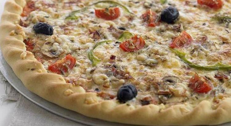 receita de massa de pizza na bimby