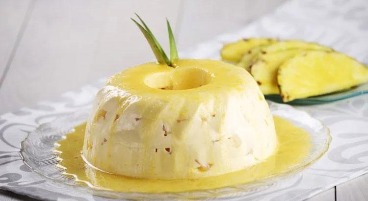 Receita de bavaroise de ananás