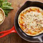 Pizza de frigideira muito fácil