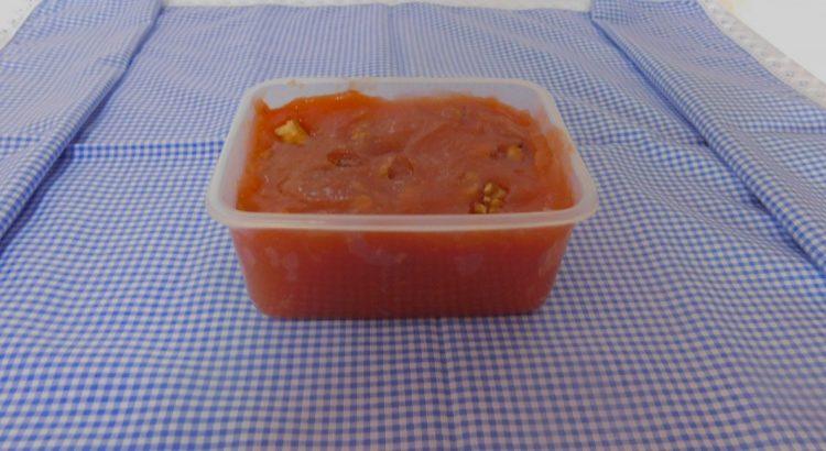 Esta receita, aqui como a apresentamos é a da marmelada tradicional, aquela que se faz no tacho e com saber caseiro.